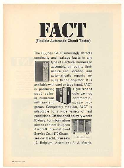 Hughes Aircraft FACT Automatic Circuit Tester (1966)