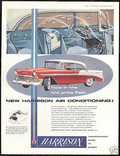 Chevrolet Bel-Air Car Harrison Air Vintage (1956)