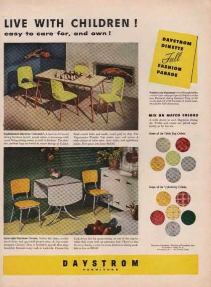 Daystrom Dinette Fall Furniture (1951)