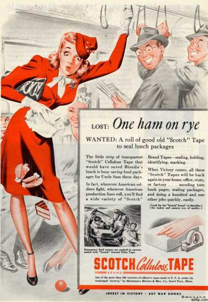 3M's Scotch Tape (1944)
