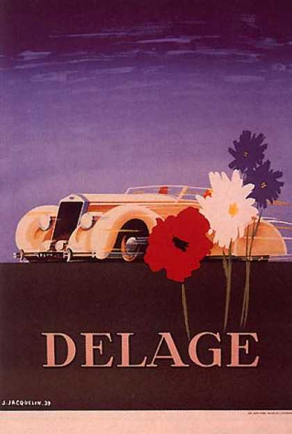 Delage by Jacquelin