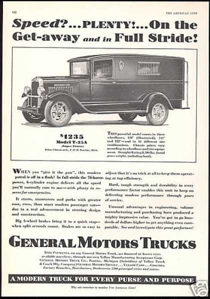 GMC General Motors Super Power Truck (1930)