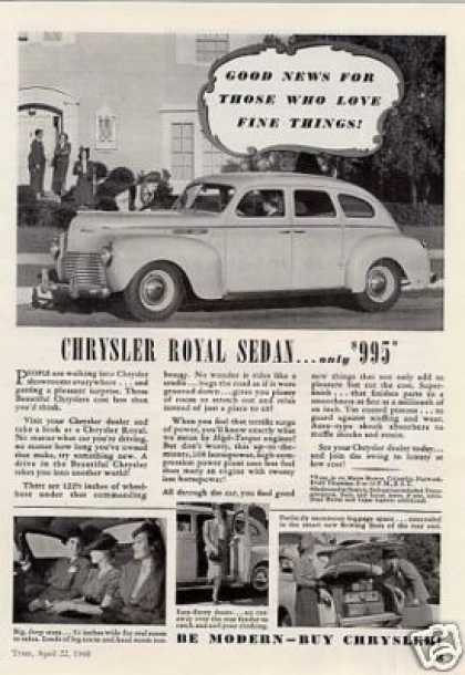 Chrysler Royal Sedan (1940)