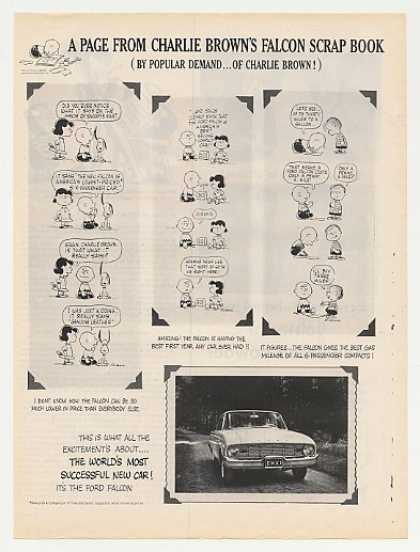 Ford Falcon Charlie Brown Cartoons (1960)