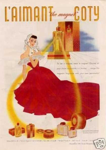 Coty L'aimant Perfume (1941)