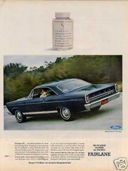 Ford Fairlane Gt Hardtop Car (1966)