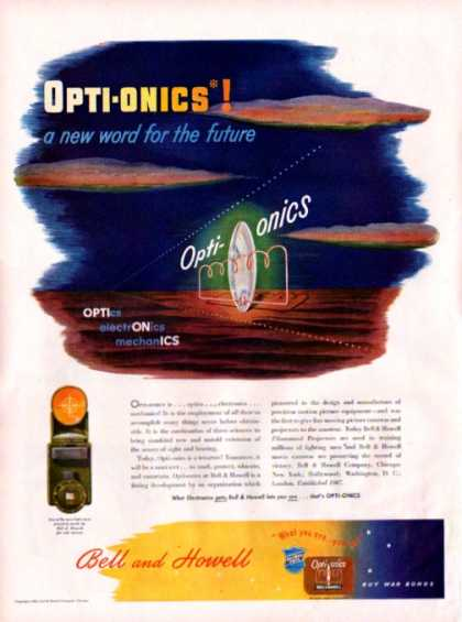 Bell and Howell Opti-onics (1943)