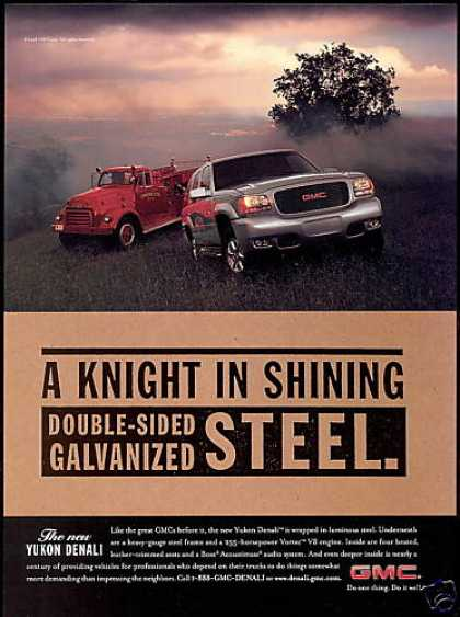 GMC Yukon Denali & Fire Engine Truck (1999)