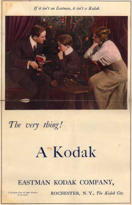 Kodak – The very thing! A Kodak (1913)