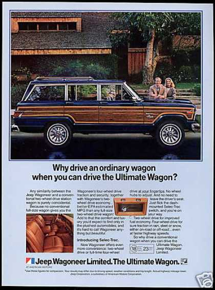 Jeep Wagoneer Limited Ultimate Wagon (1983)