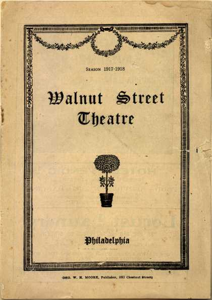 Various – Walnut Street Theatre