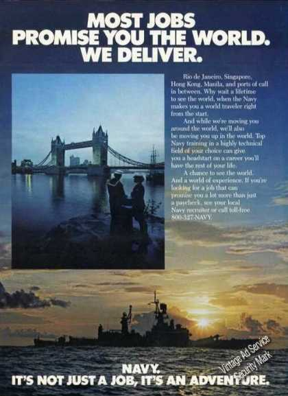 Us Navy We Deliver the World (1984)