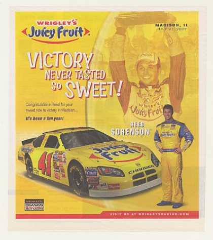 '07 NASCAR Reed Sorenson Wrigley's Juicy Fruit (2007)