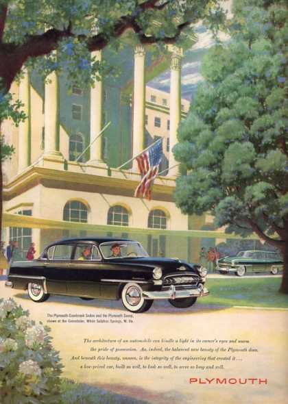 Plymouth Cranbrook Sedan Savoy Greenbrier (1953)