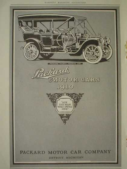 Packard Motor Car Co AND National Biscuit Co Nabisco Sugar Wafers (1910)