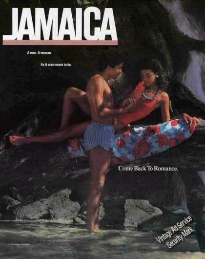 "Jamaica Travel ""Come Back To Romance"" (1987)"