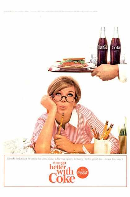 Coke Coca Cola Lady Simple Deduction (1965)