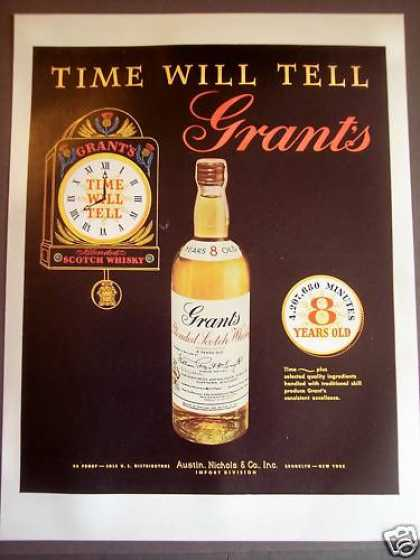 Grant's Scotch Whisky Clock (1956)