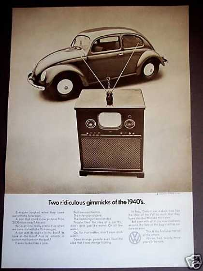 Gimmiks of the 40&#8217;s-tv, the Vw Bug Beetle Car (1971)