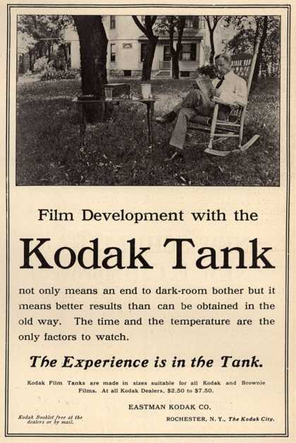 Kodak &#8211; Film Development with the Kodak Tank (1908)