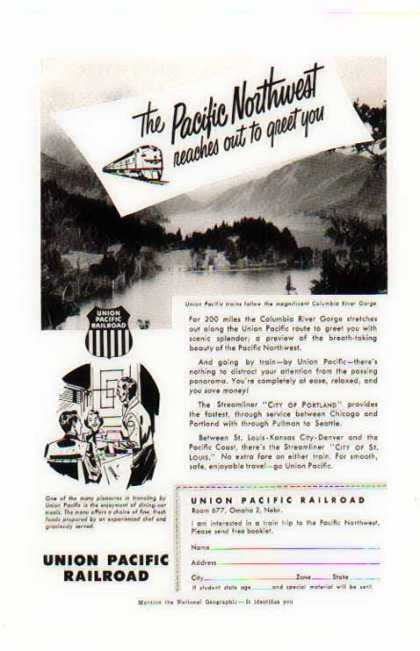 Union Pacific Railroad – Columbia River Gorge (1953)
