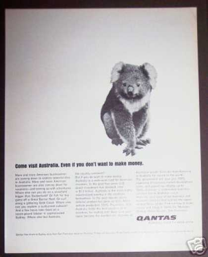 Qantas Airline of Australia Koala Bear (1965)