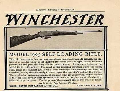 Winchester Rifle (1905)