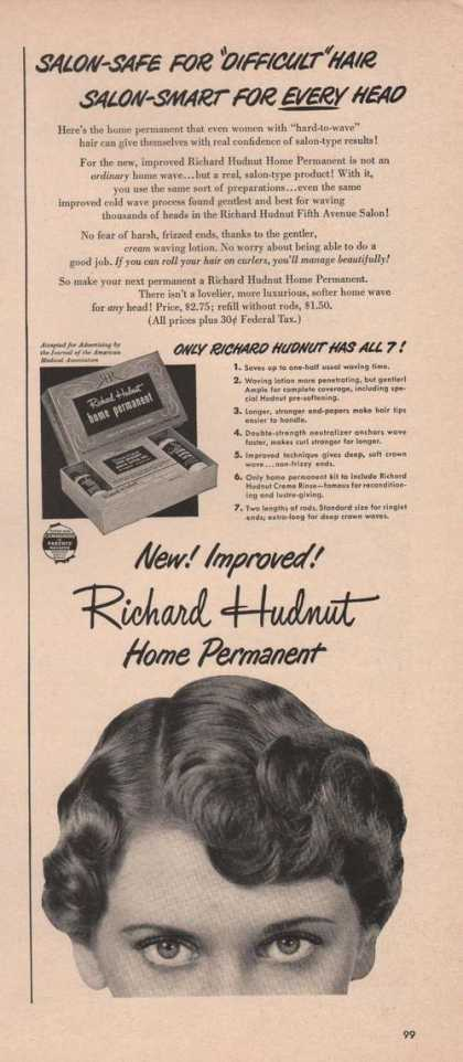 Richard Hudnut Home Permanent (1949)