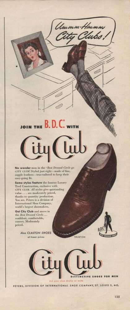 City Club Mens Dress Shoes (1946)