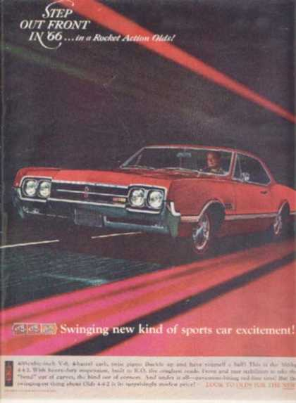 General Motor's Oldsmobile Cutlass (1965)