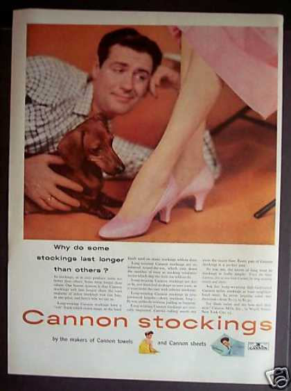 Cannon Stockings With Doxin Dog (1953)