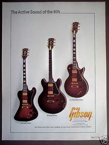 Gibson Active Guitars Rd Es Les Paul (1980)