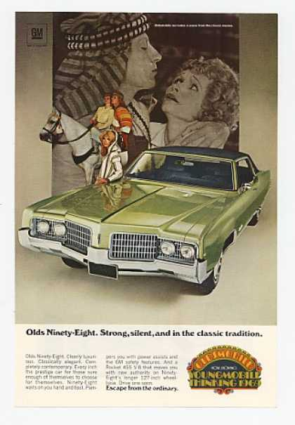 '68 1969 Olds Oldmobile Ninety-Eight Classic Movies (1968)