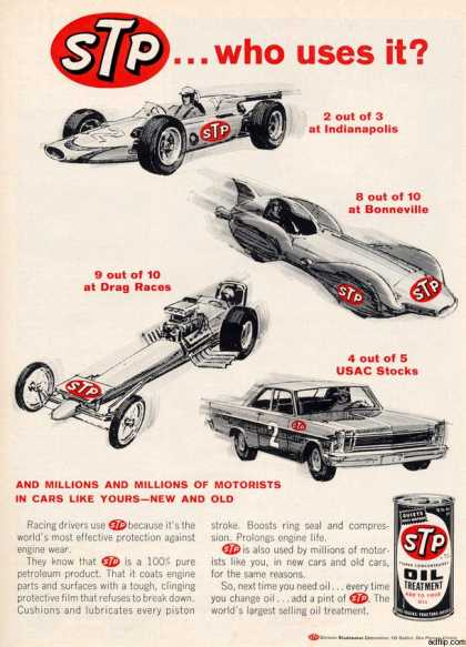 Studebaker Corporation's STP Oil Treatment (1966)