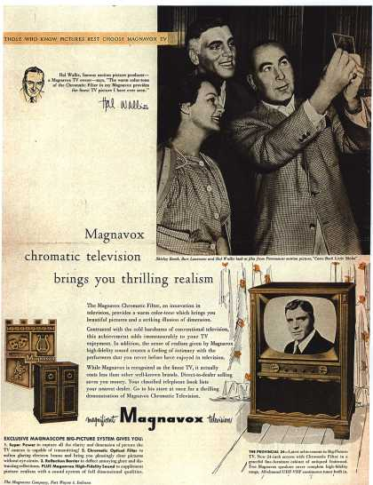 Magnavox Company's Chromatic Television – Magnavox chromatic television brings you thrilling realism (1953)