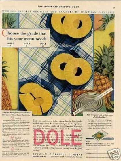 Dole Pineapple (1930)