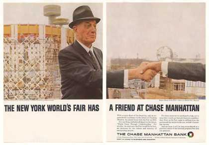 Robert Moses NY World's Fair Chase Bank (1964)