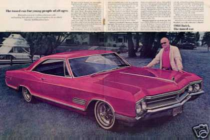 Buick Car Ad Centerfold (1966)