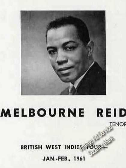 Melbourne Reid Photo Tenor Trade (1960)