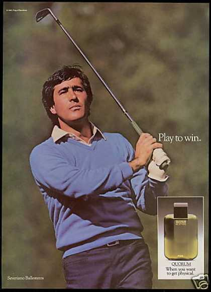 Golf Severiano Ballesteros Quorum Cologne (1986)