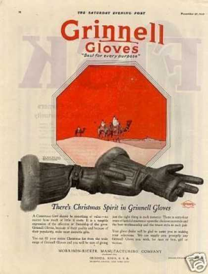 Grinnell Gloves Color (1920)