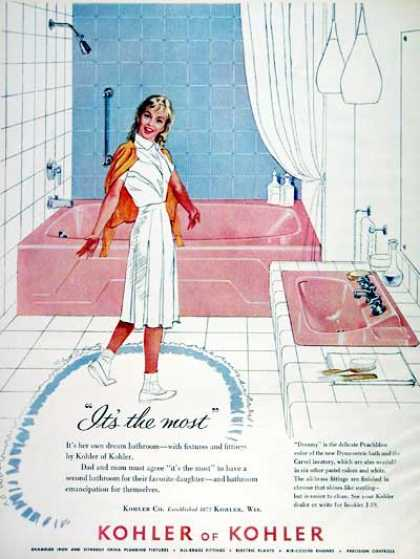 Kohler Bathroom Fixtures (1960)