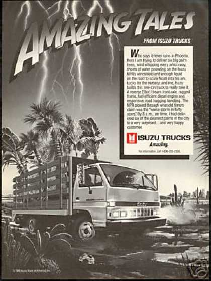 Isuzu Diesel Truck Phoenix Arizona Weston Art (1986)