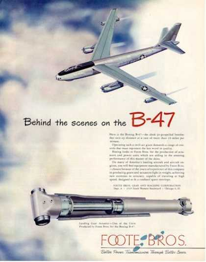 Foote Bros. B-47 Jet Propelled Bomber (1950)