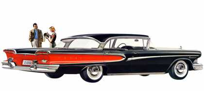 Edsel Corsair four-door hardtop (1958)