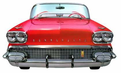 Pontiac Bonneville Convertible Coupe (1958)