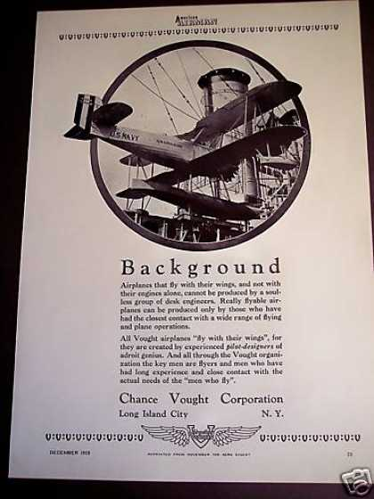 Chance Vought Corp. Airplanes Long Island Photo (1959)