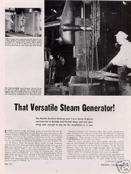 """That Versatile Steam Generator"" Article/nor.sou (1951)"