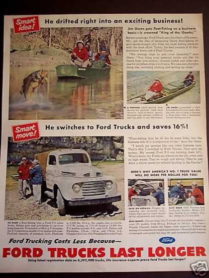 Ozarks Fishing Guide Jim Owen Ford F-5 Truck (1950)