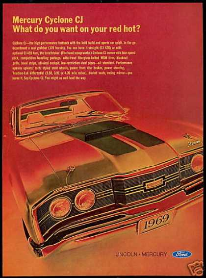 Mercury Cyclone CJ Car Photo (1969)